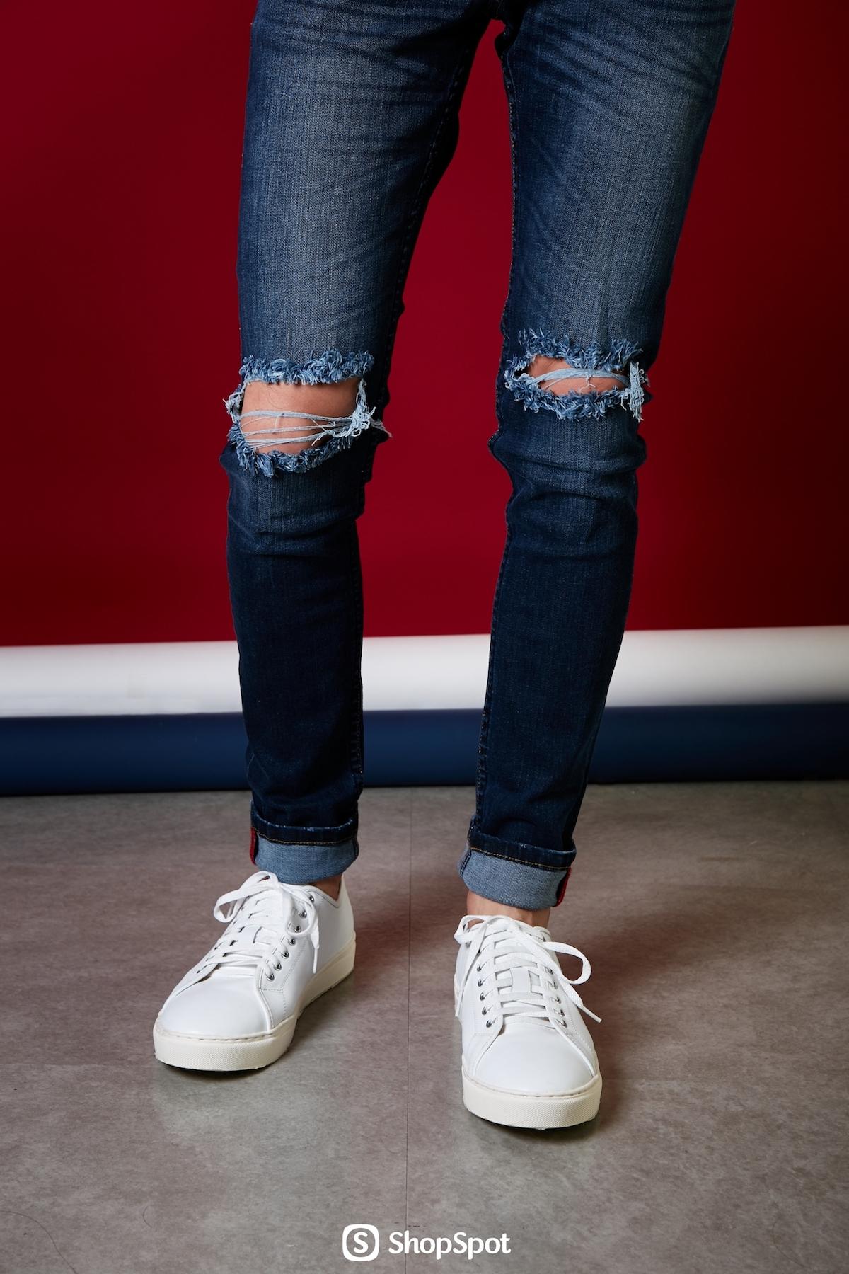กางเกง,กางเกงยีนส์,ยีน,ยีนส์,ยีนส์ขาด,jean,jeans,denim,skinny,rippedjeans,กางเกงยีนส์ผู้ชาย,GeneDenim