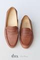รองเท้าโลเฟอร์หนังวัวแท้ งานแฮนเมด ใส่สบายแมชได้กับทุกการแต่งตัว  Size 36/ 23.5-24 cm  #รองเท้า #รองเท้าหนัง #รองเท้าผู้หญิง #รองเท้าหุ้มส้น #รองเท้าส้นแบน #รองเท้าโลฟเฟอร์