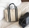 Mini Handbag  Dimension: Width x Height x Base (cm.) 28 x 17 x 8   #canvasbags #madetoorderbags #bag #bags #handbag #handbags #tophandlebag #กระเป๋า #minimal #fashion #style #streetstyle #กระเป๋าผ้า #กระเป๋าผู้หญิง #กระเป๋าถือ #กระเป๋าสะพาย