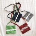 สี : กรม / เทา / แดง / เขียว  #Bag #minibag #streetstyle #ส่งฟรี #ภาพถ่ายจากสินค้าจริง #handmade #กระเป๋า #ใบเล็ก #กระเป๋าสะพาย #กระเป๋าผ้า
