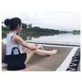 """วันสบายๆ กับกระเป๋า Lapin  Dimension: Width x Height x Base  13.5"""" x 10"""" x 5""""  #bag #bags #handbags #madetoorder #canvasbag #แคนวาส #minimal #style #black  #LapinDesigns #กระเป๋า #กระเป๋าผ้า #กระเป๋าถือ"""