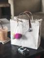 กระเป๋าถือแบบมาใหม่นะคะสายหนังวัวแท้ สอบถามได้เลยนะคะ  #handmade #handbag #handelbag #canvas #กระเป๋า #ถ่ายจากสินค้าจริง #พร้อมส่ง #minimal #fashion #style #กระเป๋าผ้า #กระเป๋าถือ  #กระเป๋าผู้หญิง