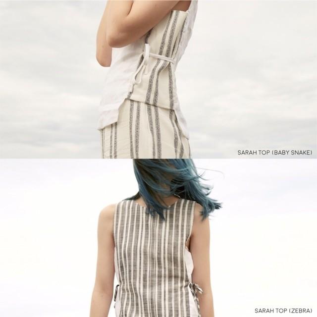 เสื้อผ้าผู้หญิง,เสื้อผู้หญิง,เสื้อแขนกุด,เสื้อผูกเอว