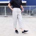 ":: Hikaru Pants :: • cotton x rayon size 1(S)  >> elastic waist(เอวยางยืด) 25""-30"" >> hip (สะโพก) 38"" >> length (ยาว) 31"" size 2 (M) >> elastic waist(เอวยางยืด) 27""-32"" >> hip (สะโพก) 40"" >> length (ยาว) 31""  ***รุ่นนี้โดนใจสาวๆที่ไม่ชอบรีดนะคะ  #กางเกง #กางเกงผู้หญิง #กางเกงขายาว #กางเกงขายาวผู้หญิง #กางเกงผู้หญิงขายาว #กางเกงขาเต่อ"