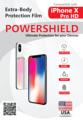 ใหม่ล่าสุด!! ฟิล์มหุ้มบอดี้ iPhone X จาก POWERSHIELD รุ่น Pro HD ที่ออกแบบมาให้กับ iPhone X โดยเฉพาะ สามารถติดทั้งส่วนของ หลัง + ข้างๆ + มุม 4 มุม ซึ่งติดแล้วเงาวั๊บๆเหมือนไม่ได้ติดเลยทีเดียว  จุดเด่นของฟิล์ม - ใสและเงาที่สุดในบรรดาฟิล์ม Body - เนื้อฟิล์มทนแรงกระแทกและรอยขีดข่วนมาก มีคุณสมบัติฟื้นฟูผิวฟิล์มได้เอง - โค้งมนไปตามขอบและมุมของ iPhone X - ฟิล์มไม่เหลืองเมื่อใช้ไปนานๆ - ป้องกันกรดและรอยนิ้วมือ  - Invisible, extra gloss and clear - Extra scratch resistance with Self Healing Technology - Curve to fit iPhone X body and corner - No yellow effect - Strong, durable over lifetime - Acid, fingerprint resistance