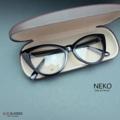 NEKO กรอทรง แคทอาย สามารถนำไปเปลี่ยนเลนส์สายตาได้ -------------------  Price 390 บาท  มาพร้อมกล่องแว่นอย่างดี และผ้าเช็ดเลนส์ รับตัดเลนส์สายตา  📮 ส่งฟรีทั่วประเทศ  ------- 👓  Size : 55-17-137::