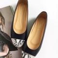 รองเท้าหนังแกะทูโทน ผลิตจากหนังแท้ทั้งคู่ นิ่มม ใส่สบาย มาพร้อมพื้นกันลื่น เดินมั่นใจไม่ลื่น  ไซส์ 35 - 41  #รองเท้า #รองเท้าหุ้มส้น 3รองเท้าสวม #รองเท้าผู้หญิง