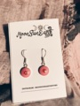Silver925 Earring x Murano yippie Pink Floral