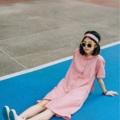 """ชื่อสินค้า : pink dress ชุดนี้เป็นเดรสทรงตรง เป็นผ้าลินินญี่ปุ่น ผ้าจะไม่บาง ไม่ต้องใส่ซับก็ได้ค่า กระดุมที่ใช้เป็นกระดุมไม้  เจาะกระเป๋าทั้ง 2 ข้าง ซ้าย - ขวา รุ่นนี้จะมีกิมมิคที่คอเสื้อ / ปลายแขนเสื้อ / ปลายเดรส ไม่ซ้ำใครแน่นอน  มีสายคาดให้ด้วยค่า  รายละเอียดสินค้า รอบอก 42"""" ความยาว 39""""  #เสื้อผ้าผู้หญิง #เดรส #dress #เดรสสั้น #เดรสแขนสั้น"""