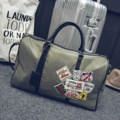 Eighty Eight Duffle Bag / Gym Bag (สีเขียว)  ☑ กระเป๋าผลิตจากผ้าร่มไนล่อน ☑ ความจุประมาณ 30 ลิตร ☑ มีสายสะพาย  ขนาด 46 x 30 x 22 cm.  #กระเป๋า #กระเป๋าผ้า #กระเป๋าสะพาย #กระเป๋าถือ