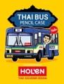 Thai Bus Pencil Bag (กระเป๋าเครื่องเขียนรถเมลล์) น้ำเงิน  รายละเอียดสินค้า • ขนาด  (W)70 x (D)70 x (H)19 mm  • Material: PVC