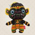 """Ramakien Birthday Doll - Wednesday(Night) - Nilapanorn  (ตุ๊กตาประจำวันเกิดวันพุธกลางคืน นิลพานร)  """" สีดำ คือสีประจำวันพุธกลางคืน หากใครเกิดวันพุธกลางคืนแล้วละก็เราขอแนะนำตุ๊กตาประจำวันเกิดวันพุธกลางคืนนิลพานร ที่ทาง Holen ได้ตั้งใจผลิตออกมาเพื่อคุณ โดยเลือกใช้สีดำเป็นตัวแทนวันพุธกลางคืนและยังเป็นสีประจำกายของนิลพานรอีกด้วย ด้วยลักษณะของตุ๊กตาที่มีรูปร่างเป็นลิงหรือวานรและใส่ลวดลายรามเกียรติ์ลงไป ทำให้ใครเห็นต่างต้องชื่นชอบและอยากได้อย่างแน่นอน นอกจากความสวยงามแล้วตุ๊กตาตัวนี้ยังช่วยนำโชคลาภมาให้คุณอีกด้วย  Holen ตั้งใจคัดสรรวัสดุคุณภาพดีมาผลิตเป็นตุ๊กตาประจำวันเกิดวันพุธกลางคืน เพื่อให้คุณได้รับสินค้าที่มีคุณภาพ เพราะตุ๊กตาไม่ได้มีดีเพียงเท่านี้แต่ยังสามารถเป็นพวงกุญให้คุณพกพาไปด้วยในทุกที่ เสมือนกับการมีคู่บัดดี้ไปด้วยทุกที่นั้นเอง ด้วยเอกลักษณ์ของนิลพานรที่มีสีประจำกายเป็นสีดำทำให้คุณไม่ต้องกังวลในการดูแล และยังได้เสริมโชคลาภไปในตัวอีกด้วย  • ขนาด (W)160 x (D)95 x (H)190 mm  • น้ำหนัก 120 g • สีดำ (ลวดลายนิลพานร) • ผลิตจากผ้า Polyester """""""