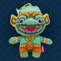 """Ramakien Birthday Doll - Wednesday(Day) - Nilraat  (ตุ๊กตาประจำวันเกิดวันพุธกลางวัน นิลราช)  """"สำหรับคนที่เกิดในวันพุธกลางวัน Holen ได้คัดสรรตุ๊กตาประจำวันเกิดวันพุธกลางวัน นิลราช มาเพื่อคุณโดยเฉพาะ เพื่อให้คุณรู้สึกเหมือนมีบัดดี้ไปด้วยในทุก ๆ ที่ พระรามจึงส่งทหารในกองทักวานรมาเป็นเพื่อนคู่ใจของคุณ ช่วยให้คุณคลายความเหงามีเพื่อนเพิ่มความสนุกสนาน เพราะตุ๊กตาประจำวันเกิดนั้นไม่ได้เป็นเพียงแค่ตุ๊กตาตัวเล็ก ๆ แต่ยังสามารถจำแลงกายเป็นพวงกุญ เรียกได้ว่าสมกับเป็นกองทัพทหารของพระรามจริง ๆ   Holen ได้ตั้งใจดีไซน์ลวดลายที่สวยงามใส่ความเป็นเอกลักษณ์ของไทยลงไปบนตัวตุ๊กตา เลือกใช้สีเขียวน้ำทะเลเป็นตัวแทนของคนเกิดวันพุธกลางวัน และยังเป็นสีประจำกายของนิลราชอีกด้วย หากใครอยากเลือกซื้อเพื่อนำไปเป็นของขวัญให้กับเพื่อนหรือคนรักเราของบอกเลยว่า ผู้รับต้องปลื้มใจไม่มากก็น้อย   • ขนาด (W)160 x (D)95 x (H)190 mm  • น้ำหนัก 120 g • สีเขียว (ลวดลายนิลราช) • ผลิตจากผ้า Polyester """""""