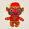 """Ramakien Birthday Doll - Sunday - Nila-ek  (ตุ๊กตาประจำวันเกิดวันอาทิตย์ นิลเอก)  """"ตุ๊กตาประจำวันเกิดวันอาทิตย์นิลเอก มีกายสีแดงซึ่งตรงกับสีประจำวันอาทิตย์ นิลเอกเป็นทหารวานรที่ช่วยพระลักษณ์ในยามสงคราม และเมื่อเสร็จศึกแล้วจึงได้จำแลงกายมาเป็นเพื่อนคอยช่วยเหลือคุณในร่างของตุ๊กตาประจำวันเกิดวันอาทิตย์ นอกจากนี้ยังสามารถจำแลงกายเป็นพวงกุญแจ ที่คุณสามารถพกพาไปด้วยทุกที่ที่คุณต้องการ ทั้งนี่ยังพร้อมเป็นเพื่อนเซลฟี่ให้คุณอวดเพื่อนในโลกโซเชี่ยลได้อีกด้วย  Holen ได้ใส่ใจรายละเอียดตั้งแต่การคัดสรรวัสดุคุณภาพดี การออกแบบตุ๊กตา และการใส่ลวดลายที่เป็นเอกลักษณ์ของไทยลงไป ไม่ว่าใครที่ได้เห็นแม้แต่ชาวต่างชาติก็ต้องชื่นชอบในการดีไซน์ตุ๊กตาตัวนี้ การเลือกใส่สีแดงที่เป็นสีประจำกายของนิลเอกและสีประจำวันอาทิตย์นั้น ก็ยังแสดงถึงสีสันที่สดใส ร้อนแรง เห็นแล้วสัมผัสได้ถึงแรงกระตุ้นที่ทำให้เกิดแรงบันดาลใจต่าง ๆ นั้นเอง   • ขนาด (W)160 x (D)95 x (H)190 mm  • น้ำหนัก 120 g • สีแดง (ลวดลายนิลเอก) • ผลิตจากผ้า Polyester """""""