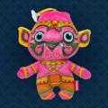 """Ramakien Birthday Doll - Tuesday - Komutr  (ตุ๊กตาประจำวันเกิดวันอังคาร โกมุท)  """"พิเศษสำหรับคนเกิดวันอังคาร Holen ได้ส่งทหารวานรจากกองทัพของพระรามมาเป็นคู่ใจของคุณ นั้นคือ ตุ๊กตาประจำวันเกิดวันอังคารโกมุท ที่มีสีประจำกายเป็นสีชมพูซึ่งตรงกับวันอังคารที่มีสีประจำวันเป็นีชมพูนั้นเอง มาพร้อมความซุกซนใบแบบฉบับวานร ที่ใครเห็นต่างต้องหลงรักเพราะความน่ารัก สีสันสดใส และลวดลายที่ Holen ได้ตั้งใจใส่ลงไปบนตัวตุ๊กตาประจำวันเกิดโกมุท   ตุ๊กตาประจำวันเกิดนี้มีความโดดเด่นมากกว่าที่คุณคิด เพราะด้วยลวดลายและรูปร่างที่ดูเป็นเอกลักษณ์ และยังสามารถจำแลงเป็นพวงกุญแจไปกับคุณได้ในทุก ๆ ที่ เพียงแค่คุณต้องการความช่วยเหลือพระรามจะส่งทหารวานรมาเป็นเพื่อนคู่ใจให้กับคุณทันที นอกจากนี้ Holen ได้ใส่ใจในทุกรายละเอียดด้วยการเลือกวัสดุคุณภาพดี ให้สัมผัสที่เนียนนุ่มไม่หยาบกร้าน พร้อมให้คุณหยิบตุ๊กตาตัวนี้ขึ้นมาเซลฟี่อวดเพื่อน ๆ หรือจะนำเป็นไปของขวัญให้กับคนพิเศษก็ดูดีไม่น้อยหน้าใครเลยล่ะ  • ขนาด (W)160 x (D)95 x (H)190 mm  • น้ำหนัก 120 g • สีชมพู (ลวดลายโกมุท) • ผลิตจากผ้า Polyester """""""