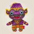 "Ramakien Birthday Doll - Saturday - Keyoon  (ตุ๊กตาประจำวันเกิดวันเสาร์ เกยูร)  ""ใครกำลังมองหาของฝากหรือของขวัญวันเกิดให้กับเพื่อนหรือคนรักแล้วละก็ เราขอแนะนำตุ๊กตาประจำวันเกิดวันเสาร์เกยูร ตัวแทนทหารวานรจากกองทัพของพระราม ที่ได้ถูกส่งมาเป็นบัดดี้หรือเพื่อนคู่ใจของคุณ ด้วยสีม่วงที่เป็นสีประจำกายของเกยูรและสีประจำวันเสาร์ ทำให้เกยูรเป็นเพื่อนคู่ใจที่สามารถไปกับคุณได้ทุกที่ และยังสามารถจำแลงกายจากตุ๊กตาเป็นพวงกุญแจได้อีกด้วย เรียกว่าพิเศษสุด ๆ ไปเลย  Holen ได้ใส่ความตั้งใจและความประณีตลงไปในตุ๊กตาประจำวันเกิดวันเสาร์เกยูรอย่างไม่หยุดยั้ง เพราะการคัดสรรวัสดุคุณภาพดีที่ทำให้ตุ๊กตามีความนุ่มน่าสัมผัส และยังใส่ลวดลายอันเป็นเอกลักษณ์ของไทยไปอีกด้วย หากใครกำลังมองหาเพื่อนคู่ใจในการเดินทางแล้วละก็ลองนำตุ๊กตาประจำวันเกิดวันเสาร์เกยูรไปพิจารณา แล้วคุณจะสัมผัสได้ถึงมนตราที่ทหารวานรเสกให้คุณมีความสุข สนุกสนานและนำโชคลาภมาให้กับคุณแบบที่หาที่ไหนไม่ได้  • ขนาด (W)160 x (D)95 x (H)190 mm  • น้ำหนัก 120 g • สีม่วง (ลวดลายเกยูร) • ผลิตจากผ้า Polyester """