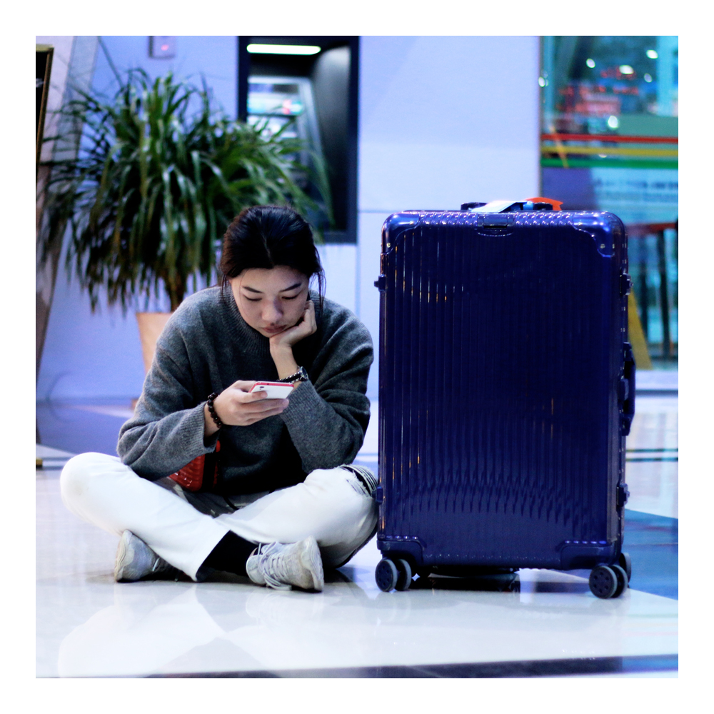 moof49,luggage,กระเป๋าเดินทาง,travel,trip,baggage,suitcase,BLUE,letsmoof,supportmoof49,travelwithmoof,กระเป๋า,กระเป๋าลาก,กระเป๋าเดินทางล้อลาก