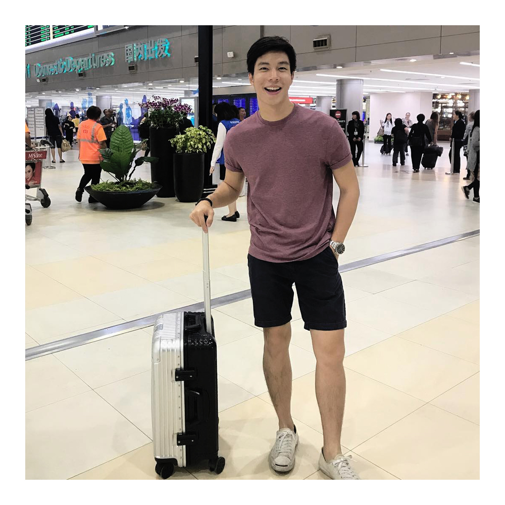 moof49,luggage,กระเป๋าเดินทาง,travel,trip,baggage,suitcase,Twotone,letsmoof,supportmoof49,travelwithmoof,กระเป๋า,กระเป๋าลาก,กระเป๋าเดินทางล้อลาก