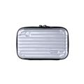 กระเป๋า Moof49 Kit Plus Silver สีเงิน ราคา 450 บาท  ขนาดกระเป๋า กว้าง 17 cm สูง 11 cm ลึก 7 cm  คุณสมบัติ - มีสายยาว สามารถสะพายคาดตัวได้ เบาสบาย พกพาไปได้ทุกที่ - กระเป๋าใบเล็กสำหรับพกพาเดินทาง ช่วยกันกระแทก  - สามารถใส่ iPhone 7+ หรือ Galaxy Noteได้  - ผลิตจากวัสดุ ABS ผสม PC คุณภาพสูง - แข็งแรงทนทานและเงาสวย  - ผิวกันน้ำ เช็ดทำความสะอาดได้ง่าย น้ำหนักเบา