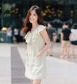 Dress : cody #PKcodydress  color : melon green  size : S , M , L length : S-32.5 , M-33.5 , L-34.5 price : 1,250 THB ________________ details : ตัวนี้น่ารักมากๆ เป็นคอระบายผูกโบ แถมยังมีกระเป๋าด้านหน้าอีกเพิ่มความแบ๊วๆ หวานๆ ใสๆวัยรุ่นชอบ^^ ซับในเย็บกลับเรียบร้อย ________________ #PHAKHAbrand #PHAKHA   #phakhabrand
