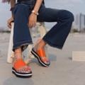 """ไซส์ 35-40 สูง 1.5"""" สายผูกข้อเท้าสามารถถอดออกได้ **ระบุไซส์ที่ต้องการไว้ที่ช่องข้อความเพิ่มเติมถึงร้านค้าในขั้นตอนการสั่งซื้อได้เลยนะคะ  #shoes #fashion #TropicalTraveller #TropicalTraveller #TropicalTraveller #รองเท้า #รองเท้าผู้หญิง #รองเท้าแตะ #รองเท้าผูก"""