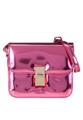 """กระเป๋าสะพายข้าง Glossy Box  เปลี่ยนคุณเป็นคนใหม่ ด้วยกระเป๋าสะพายใบเก๋ ที่ไม่ว่าจะสะพายไปไหนก็ดูโดดเด่นสะดุดตาด้วยดีไซน์แบบกล่องในเมทาลิกเป็นมันเงาสุดชิค แต่งล็อคโลหะสีทองที่ฝากระเป๋าเพื่อความเนี๊ยบเก๋ที่คุณต้องหลงรัก  - วัสดุสังเคราะห์ - ปิดกระเป๋าด้วยตัวล็อคแบบกด - มีช่องกระเป๋าหลัก 2 ช่อง - ซับในผ้าโพลีเอสเตอร์ - ด้านในมีช่องซิป 1 ช่อง - สายสะพายยาวสามารถปรับระดับได้  ยาว x สูง x กว้าง (นิ้ว) - 9""""x 7""""x 3.5""""  สายสะพายยาว 20""""  #กระเป๋า #กระเป๋าผู้หญิง #กระเป๋าสะพาย"""