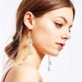 🌟New in: ต่างหูที่นางเเบบใส่ ของจริงสวยมาก เรียบหรู ดูดี ใส่ไปทำงาน หรือ จะใส่ออกงานก็เหมาะ  วัสดุ: silver 925 ราคา: 160 THB 🚨ภาพถ่ายจากสินค้าจริง🚨 ➰➰เครื่องประดับร้านเราทำจาก เงิน 92.5 และ alloy รับรองว่าลูกค้าซื้อไปใส่ไม่เเพ้, ไม่คัน และเครื่องประดับไม่ลอก, ไม่ดำ แน่นอนค่ะ ➰➰  #nerbearring #ต่างหูแฟชั่น #ต่างหูแฟชั่นเกาหลี #ต่างหูเก๋ๆ #ต่างหูสวย #ต่างหูนำเข้า  #ต่างหูมินิมอล #minimalearrings #womenfashion #womenearrings