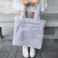กระเป๋าขนสังเคราะห์นุ่มฟูสัมผัสดีมากๆ เย็บเก็บขอบและซับในทั้งใบอย่างดี รับนำ้หนักได้ดีเยี่ยม  #กระเป๋า #กระเป๋าผ้า #กระเป๋าผู้หญิง #กระเป๋าสะพาย #กระเป๋าถือ