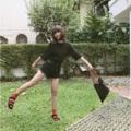 "Collection : V-Shape Colors : สีดำ Sizes : S M L XL  Size : S M L XL ⠀S : 24-25""/32-33"" ⠀M : 26-27""/34-35"" ⠀L : 28-29""/36-37"" XL : 30-31""/38-39""  #เสื้อผ้าผู้หญิง #กางเกง #กางเกงขาสั้น #กางเกงขาสั้นผู้หญิง #กางเกงผู้หญิงขาสั้น #กางเกงยีนส์ #กางเกงยีนส์ขาสั้น #กางเกงยีนส์ผู้หญิง"