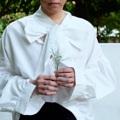 เสื้อเชิ๊ตสีขาว มีโปว์ผูกคอ m รอบอก 46 L รอบอก 52  #เสื้อผ้าผู้ชาย #เสื้อผู้ชาย #เสื้อเชิ้ต #เสื้อเชิ้ตผู้ชาย #เสื้อเชิ้ตแขนยาว #เสื้อเชิ้ตสีขาว #เสื้อแขนยาว #เสื้อสีขาว