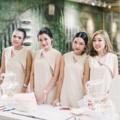 """ชื่อสินค้า : Soft Cream Dress With Detail At Neck Color : Cream Price : 1590 THB.  Long length : S ความยาว 32"""" นิ้ว Long length : M ความยาว 33"""" นิ้ว  PAVARISA SIZE CHART  SIZE(S) รอบอก Bust  31-32(นิ้ว)inch รอบเอว Waist 24-25(นิ้ว)inch  รอบสะโพก Hip 34-35(นิ้ว)inch  SIZE(M) รอบอก Bust 33-34(นิ้ว)inch  รอบเอว Waist 26-27(นิ้ว)inch  รอบสะโพก Hip 36-37(นิ้ว)inch  #เสื้อผ้าผู้หญิง #เดรส #เดรสสั้น #มินิเดรส #เดรสแขนกุด"""