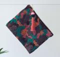 Tribal Fabric Clutch Bag With Pom Pom And Tassel Zipper 03