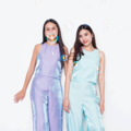 """☆☆☆ 'Evening Light' Sleeveless and Trouser:  Purple shining in Blue ☆☆☆  / สีม่วงอ่อน Purple shining in Blue / ( Color might not appear correctly, it depends on the applications and devices you're using. )  Sleeveless* Available in size.. S ( Chest size 34"""") M (Chest size 36"""") L (Chest size 38""""), or ☆ Made to order Size ☆ ---- Trouser* Available in size.. S ( Waist size 26"""") M (Waist size 28"""") L (Waist size 30""""), or ☆ Made to order Size ☆  ☆ ☆ ☆ ☆ ☆ ☆ ☆  #เสื้อผ้าผู้หญิง #เสื้อผู้หญิง #เสื้อแขนกุด #กางเกง #กางเกงผู้หญิง #กางเกงขายาว #กางเกงขายาวผู้หญิง #กางเกงผู้หญิงขายาว"""