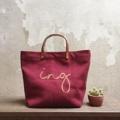 "Canvas bag :size M For Khun Ing 😊  Dimension: Width x Height x Base 13.5"" x 10"" x 5""  #canvasbags #madetoorderbags #bag #bags #handbag #handbags #nametag #กระเป๋า #กระเป๋าผ้า #กระเป๋าถือ"
