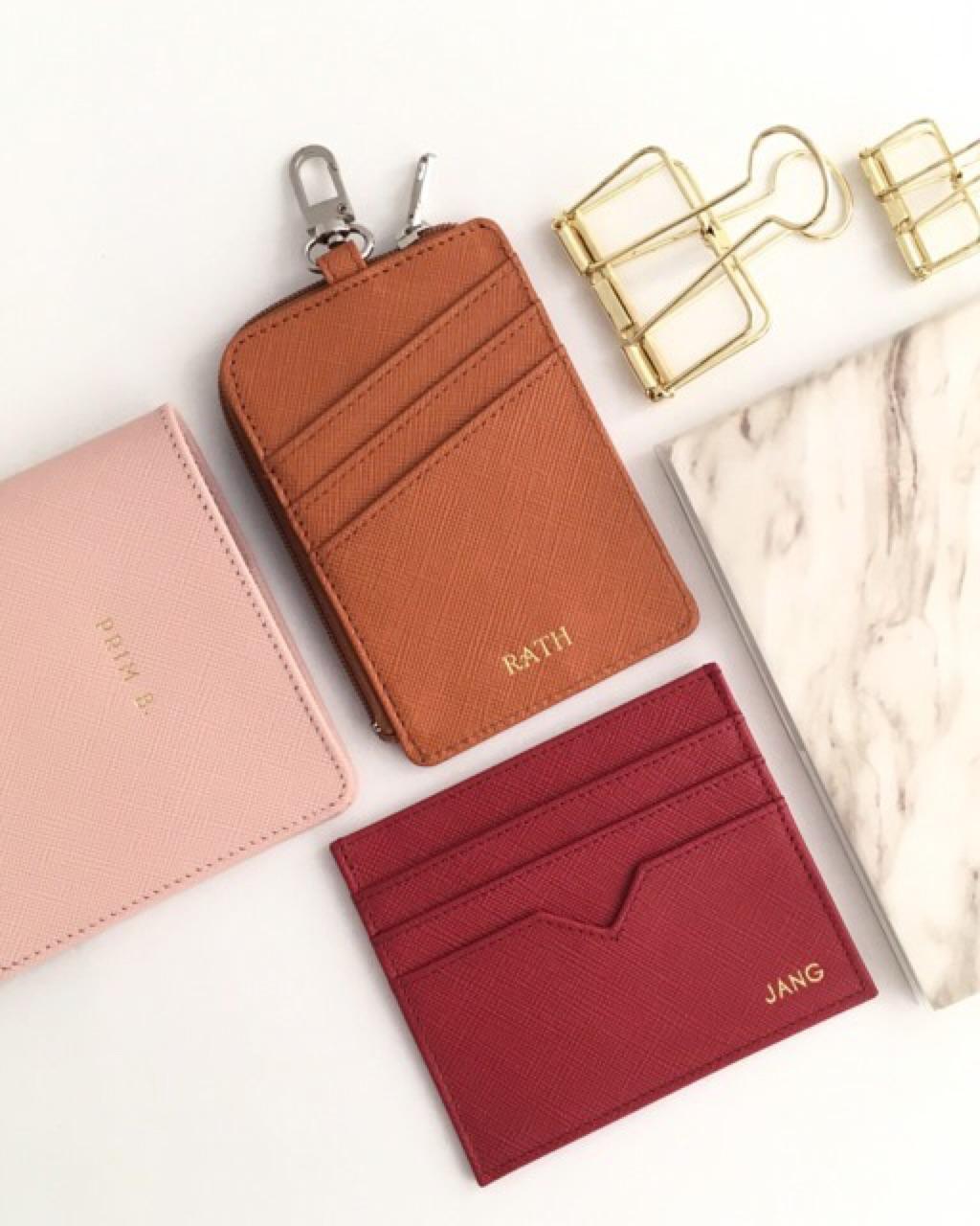 VITTCUSTOMSTUDIO,กระเป๋า,กระเป๋าหนัง,ซอง,ซองหนัง,ซองใส่บัตร,ใส่บัตร