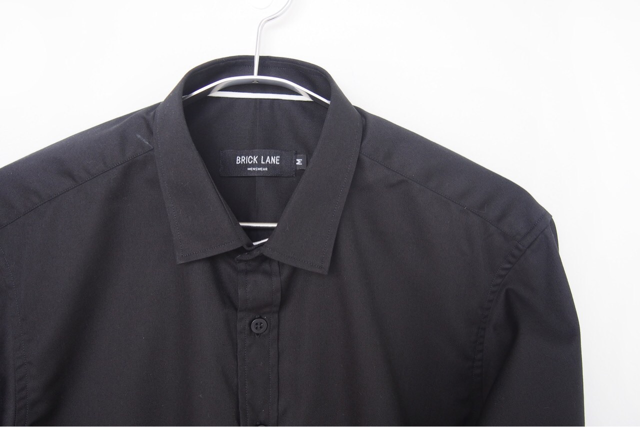 BrickLane,เสื้อเชิ้ต,เสื้อเชิ้ตแขนยาว,เสื้อเชิ้ตสีดำ