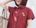 """ผ้า : คอตตอล วัสดุ : ตกแต่งด้วยกระดุมลายx'mas สี : แดง   ฟรีไซส์  • รอบอก 40"""" • ความยาว 24""""  #เสื้อผ้าผู้หญิง #เสื้อผู้หญิง #เสื้อเชิ้ต #เสื้อเชิ้ตผู้หญิง #เสื้อเชิ้ตแขนสั้น"""