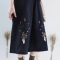 "material : cotton signatured by KATJI  • Elastic Waist : 25""-31"" • Hip : 46"" • Length 29""  **คอนเฟริมงานปักมาสวยมาก^^  #กางเกง #กางเกงขายาว #กางเกงผู้หญิง #กางเกงผู้หญิงขายาว #กางเกงขายาวผู้หญิง"