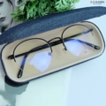 JESTIN กรอบครึ่งเลนส์ มาใหม่ล่าสุด 🥇 น้ำหนักเบา ตัดเลนส์สายตา สั้น ยาว เอียง ได้  ------------------- Price 490 บาท  มาพร้อมกล่องแว่นอย่างดี และผ้าเช็ดเลนส์ รับตัดเลนส์สายตา  📮 ส่งฟรีทั่วประเทศ  ------- 👓  Size : 51-17-137 ::