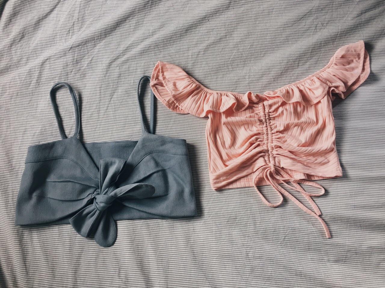 ammabshop,เสื้อครอป,เสื้อผู้หญิง,เสื้อผ้าผู้หญิง,เสื้อปาดไหล่,ปาดไหล่,เสื้อเปิดไหล่,เปิดไหล่,เสื้อสายเดี่ยว,สายเดี่ยว