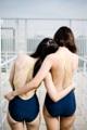 """:: ชุดว่ายน้ำผู้หญิง - Crossback - [navy/yellow] :: Minimal swimwear that you'll love with best quality and reasonable price. Every pieces are design by the designer. We use high quality textile that are UV protected and every swimwear come with bra pads inside.  ชุดว่ายน้ำมินิมอล (minimal) เรียบหรู ราคาพอดี คุณภาพดีเยี่ยม ออกแบบโดยนักออกแบบ (designer) ฝีมือดี ใช้ผ้าสำหรับชุดว่ายน้ำโดยเฉพาะ กันยูวี มีซับในทุกตัว พร้อมฟองน้ำรับทรงในตัว เราตั้งใจผลิตเย็บอย่างดีทุกชิ้นเพื่อลูกค้าทุกท่าน 😊 ไม่แน่ใจปรึกษาเรื่อง size ก่อนสั่งซื้อได้ที่ Ark to seller นะคะ -------------------------------------------------------------- High quality cutting swimwear Thailand. cross back  color : navy/yellow. size in: s m l material : 80% nylon 20% lycra -------------------------------------------------------------- **SIZE CHART** Size S: Bust 29.5""""-31.5"""" l Waist 26"""" l Hip 32""""-33.5"""" Size M: Bust 31""""-32.5"""" l Waist 28"""" l Hip 34""""-36.5"""" Size L: Bust 33""""-34.5"""" l Waist 30"""" l Hip 36.5""""-39"""""""