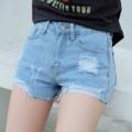 #พร้อม กางเกงขาสั้นสกิดขาดสวยงาม s,m -------------------------------------------- กางเกงยีนส์ขาสั้น สะกิดขาดเก๋ๆ   size s เอว25' สะโพก 33-34 ยาว 11   size m เอว 26' สะโพก 35 ยาว 11  ราคา 350 บาท  ------------------------------------------------------ #women #ผู้หญิง #กางเกงผู้หญิง #กางเกงขาสั้น #กางเกงขาสั้นผู้หญิง #กางเกงยีนส์ #กางเกงยีนส์ขาสั้น