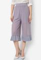 """เพิ่มความทะมัดทะแมงให้วันทำงานของสาวๆด้วยกางเกงทรงสามส่วนตัวนี้จาก Mirror Dress ผลิตจากผ้าตาข่ายซีทรูพร้อมซับในแบบครึ่งตัวดูชิคสุดๆ พร้อมแต่งชายขากางเกงด้วยดีเทลผ้าตัดต่ออัดพลีทที่ช่วยเติมความน่ารักมีสไตล์ไม่เหมือนใคร  - ผลิตจากผ้าโพลีเอสเตอร์ผสม - เอวสูง - ทรงขากระบอก - ขอบเอวเสริมแถบยางยืด - มีซับในครึ่งตัว  รอบเอว x รอบสะโพก x ความยาว (นิ้ว) - One size (22""""-28"""" x 36"""" x 31"""")  #กางเกง #กางเกงผู้หญิง #กางเกงขายาว #กางเกงขายาวผู้หญิง #กางเกงผู้หญิงขายาว #กางเกงขาบาน"""