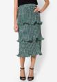 """โบกสะบัดความงามแบบสาวยิปซีให้ทุกคนหลงรัก ด้วยกระโปรงยาวผ้าโพลีเอสเตอร์เนื้อดีตัวนี้จาก Mirror Dress มาในดีไซน์ลายกราฟฟิคสีสวยที่แมทช์เข้ากับลุคหวานๆของคุณได้ทุกวัน  - ผลิตจากผ้าโพลีเอสเตอร์ - เอวสูง - ขอบเอวเสริมแถบยางยืด - ทรงพอดีข้อเท้า - มีซับใน  รอบเอว x ความยาว (นิ้ว) - 24""""-28"""" x 32.5"""""""