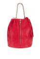 """กระเป๋าถือ Glam Bucket  ดีไซน์ในทรงถุง พร้อมดีไซน์ซิปสีส้มผ่ากลางด้านหน้า เข้ากันดีกับสีแดงจี๊ดจ๊าดของตัวกระเป๋าที่เปล่งประกายโดดเด่น จนทุกคนต้องเหลียวมอง  - ผลิตจากหนังสังเคราะห์ - ปิดกระเป๋าด้วยซิป - อะไหล่กระเป๋าผลิตจากโลหะชุบสีทอง - มีช่องกระเป๋าหลัก 1 ช่อง - สายสะพายไหล่ 1 เส้น สามารถถอดออกได้  ยาว x สูง x กว้าง - 9"""" x 9"""" x 5""""  สายสะพายยาว 22"""""""