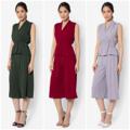 ชื่อสินค้า : Top Wrapped x Cropped Leg เสื้อแขนกุด กับ กางเกงขายาว 5 ส่วน เนื้อผ้าพริ้ว เบาสบาย สวมใส่ง่าย  #เสื้อผ้าผู้หญิง #เสื้อผู้หญิง #เสื้อแขนกุด #กางเกง #กางเกงขายาว #กางเกงผู้หญิง #กางเกงผู้หญิงขายาว #กางเกงขายาวผู้หญิง