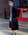 ชื่อสินค้า : Black Robe เสื้อคลุมทรงอาบน้ำ เนื้อผ้ากำมะหยี่สีดำ   ฟรีไซส์ รอบอก 44 นิ้ว  #เสื้อคลุม #เสื้อคลุมตัวยาว #เสื้อคลุมแขนยาว