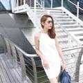 """ชื่อสินค้า : One Shoulder With Chain Detail Dress Color : White Price : 1590 THB.  Long length : S ความยาว 32"""" นิ้ว Long length : M ความยาว 33"""" นิ้ว PAVARISA SIZE CHART  SIZE(S) รอบอก Bust  31-32(นิ้ว)inch รอบเอว Waist 24-25(นิ้ว)inch  รอบสะโพก Hip 34-35(นิ้ว)inch  SIZE(M) รอบอก Bust 33-34(นิ้ว)inch  รอบเอว Waist 26-27(นิ้ว)inch  รอบสะโพก Hip 36-37(นิ้ว)inch  #เสื้อผ้าผู้หญิง #เดรส #เดรสสั้น #เดรสสั้นสายเดี่ยว #มินิเดรส"""