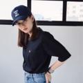 ชื่อสินค้า: เสื้อยืดคอกลม แขนสั้น กระเป๋าอกซ้าย สไตล์เกาหลี เนื้อผ้า: cotton 100% Color: สีดำ  #เสื้อยืด #เสื้อยืดผู้หญิง #เสื้อยืดคอกลม #เสื้อยืดคอกลมแขนสั้น #เสื้อยืดแขนสั้น