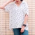 เสื้อเชิ๊ตทรงฮาวาย สีขาว ลายนก  price : 390  size : ใหล่ 16 อก 45 ยาว 26 นิ้ว   #SAMAINIYOM #เสื้อเชิ้ต #เสื้อเชิ้ตฮาวาย #เสื้อฮาวาย #ฮาวาย #เสื้อเชิ้ตแขนสั้น #แขนสั้น